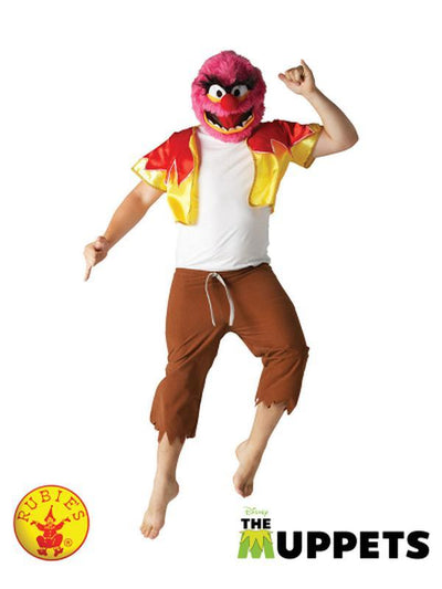ANIMAL MUPPETS COSTUME - SIZE STD-Costumes - Mens-Jokers Costume Hire and Sales Mega Store
