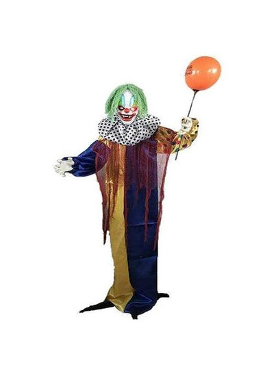 Animated Clown with Balloon-Halloween Props and Decorations-Jokers Costume Hire and Sales Mega Store