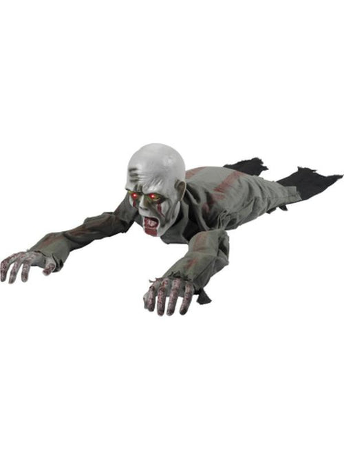 Animated Crawling Zombie Prop-Halloween Props and Decorations-Jokers Costume Hire and Sales Mega Store