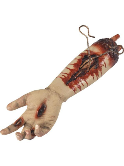 Animated Gory Severed Arm Prop, Pulsating-Halloween Props and Decorations-Jokers Costume Hire and Sales Mega Store