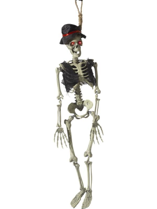 Animated Hanging Groom Skeleton Decoration-Halloween Props and Decorations-Jokers Costume Hire and Sales Mega Store