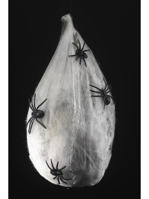 Animated Hanging Spider Larva Decoration-Halloween Props and Decorations-Jokers Costume Hire and Sales Mega Store