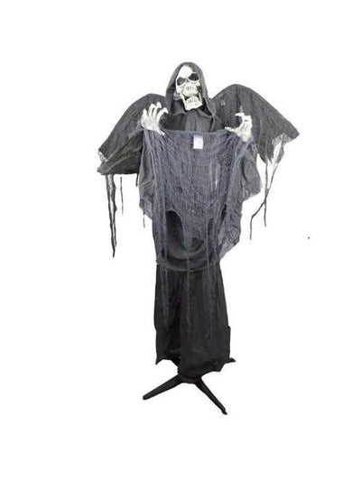 Animated Standing Reaper-Halloween Props and Decorations-Jokers Costume Mega Store