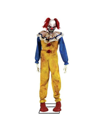Animated Twitching Clown Prop-Halloween Props and Decorations-Jokers Costume Mega Store