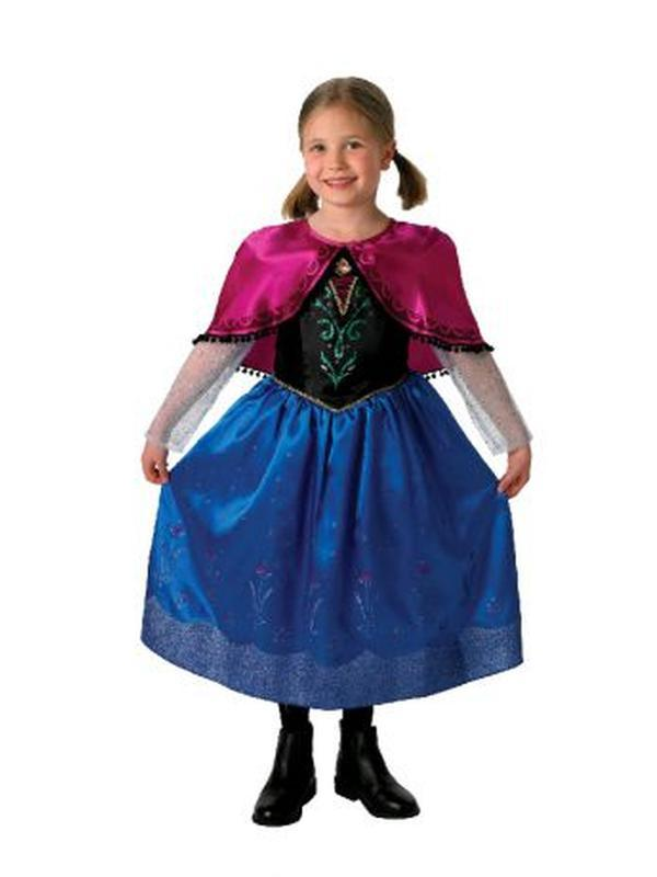Anna Deluxe Costume - Size 3-5-Jokers Costume Mega Store