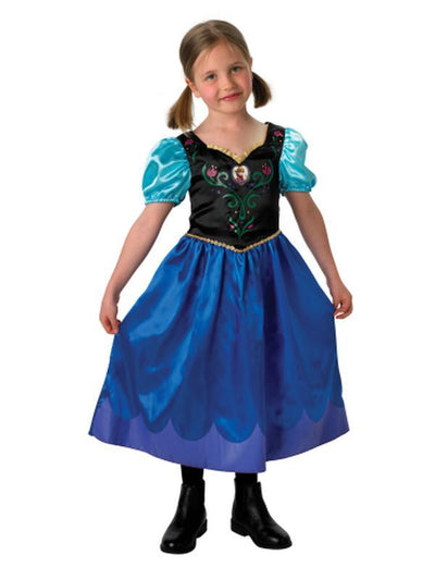 Anna Frozen Classic - Size 5-7-Costumes - Girls-Jokers Costume Hire and Sales Mega Store