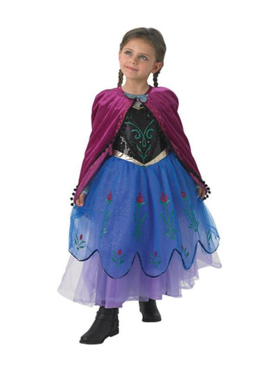 Anna Premium - Age 7-8-Costumes - Girls-Jokers Costume Hire and Sales Mega Store