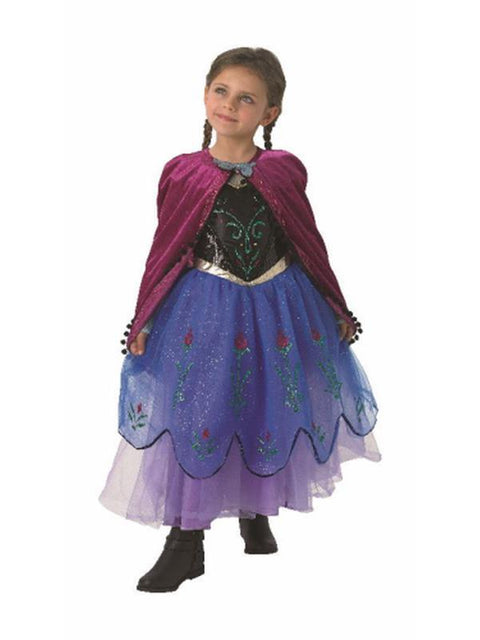 Anna Premium Costume - Size M-Costumes - Girls-Jokers Costume Hire and Sales Mega Store