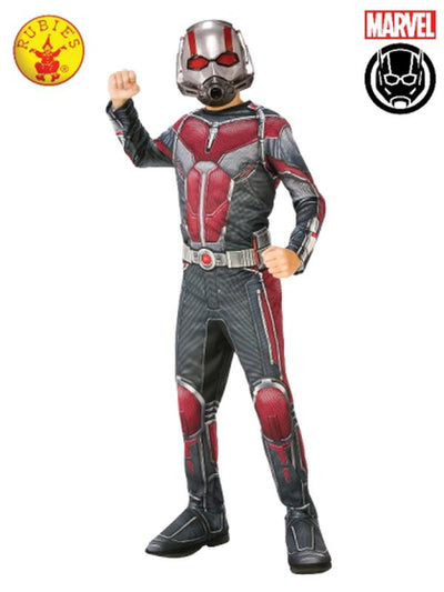 ANT-MAN CLASSIC COSTUME, CHILD.-Costumes - Boys-Jokers Costume Hire and Sales Mega Store