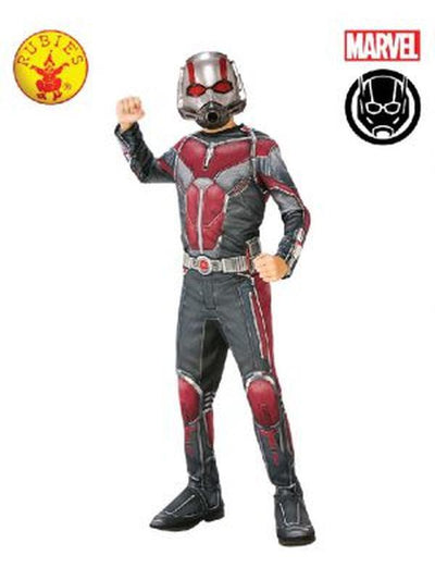 ANT-MAN CLASSIC COSTUME, CHILD-Costumes - Boys-Jokers Costume Hire and Sales Mega Store