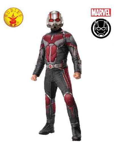 ANT-MAN DELUXE COSTUME-Costumes - Mens-Jokers Costume Hire and Sales Mega Store