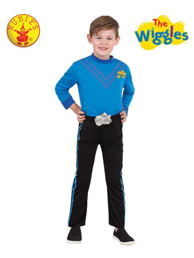 ANTHONY WIGGLE DELUXE COSTUME (BLUE) - SIZE 3-5-Costumes - Boys-Jokers Costume Hire and Sales Mega Store
