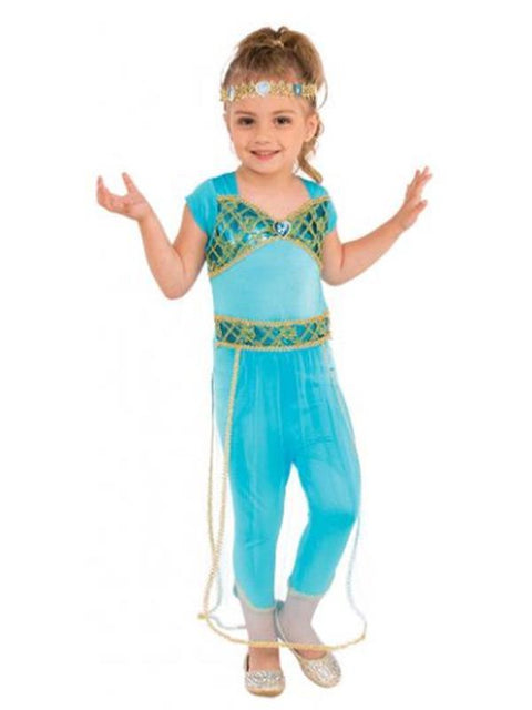Arabian Princess Costume - Size M-Costumes - Girls-Jokers Costume Hire and Sales Mega Store