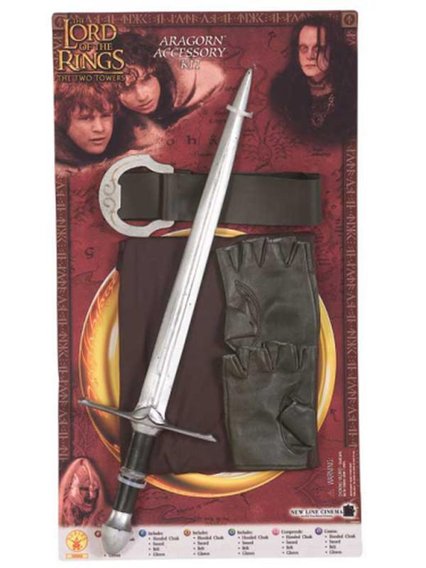 Aragorn Blister Kit - Size Std-Costumes - Boys-Jokers Costume Hire and Sales Mega Store