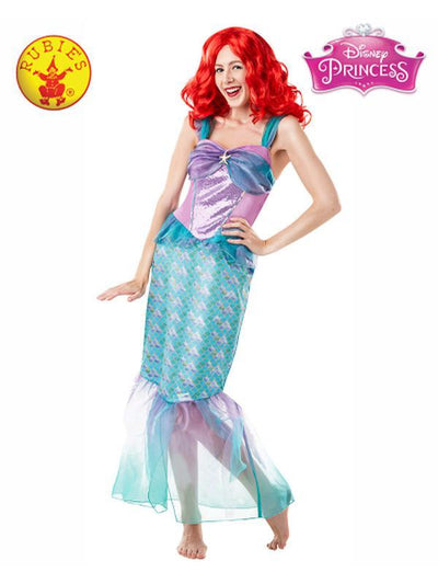 ARIEL DELUXE ADULT COSTUME - SIZE M-Costumes - Women-Jokers Costume Hire and Sales Mega Store