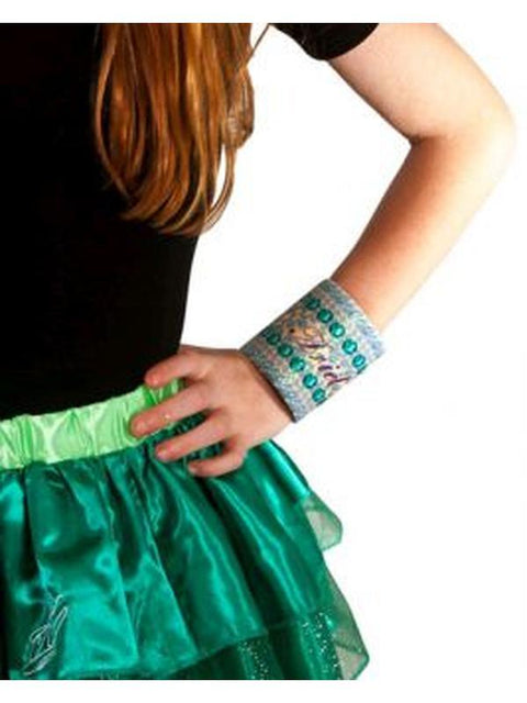 Ariel Fabric Cuff-Costume Accessories-Jokers Costume Hire and Sales Mega Store