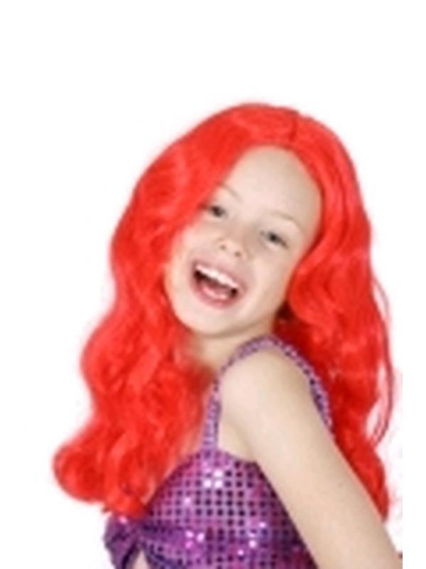 Ariel Little Mermaid Wig - Child-Wigs-Jokers Costume Hire and Sales Mega Store