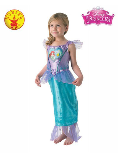 ARIEL LOVEHEART COSTUME, CHILD - SIZE 3-5-Costumes - Girls-Jokers Costume Hire and Sales Mega Store