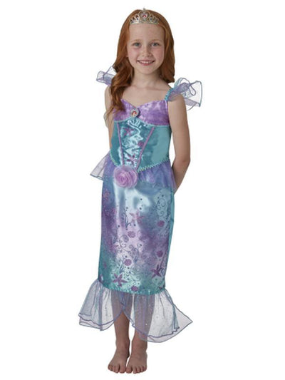 Ariel Rainbow Deluxe Costume - Size 6-8-Costumes - Girls-Jokers Costume Hire and Sales Mega Store