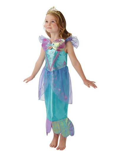 Ariel Storyteller Costume - Size 4-6-Costumes - Girls-Jokers Costume Hire and Sales Mega Store