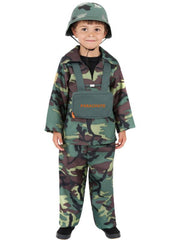 Army Boy Costume-Costumes - Boys-Jokers Costume Hire and Sales Mega Store