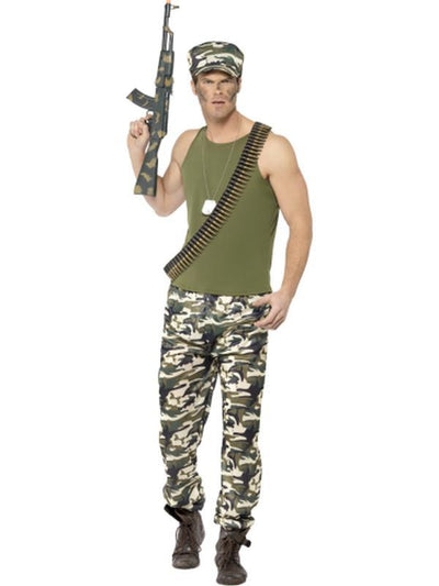 Army Costume, Economy-Costumes - Mens-Jokers Costume Hire and Sales Mega Store