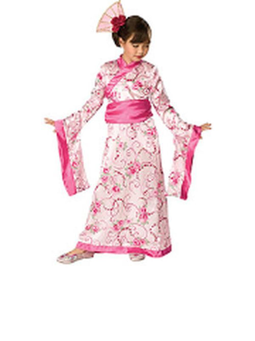 Asian Princess Costume - Size L-Costumes - Girls-Jokers Costume Hire and Sales Mega Store