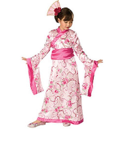 Asian Princess Costume - Size M-Costumes - Girls-Jokers Costume Hire and Sales Mega Store