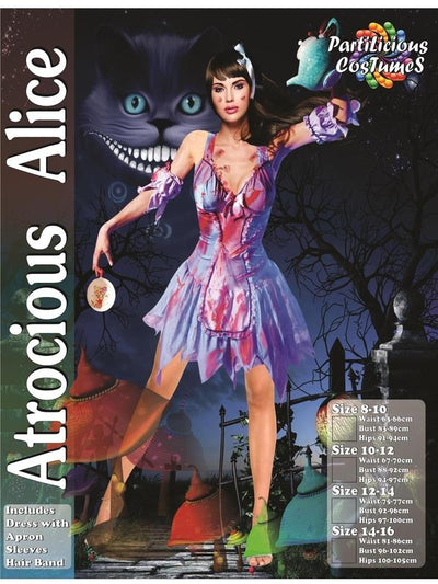 Atrocious Alice-Costumes - Women-Jokers Costume Hire and Sales Mega Store