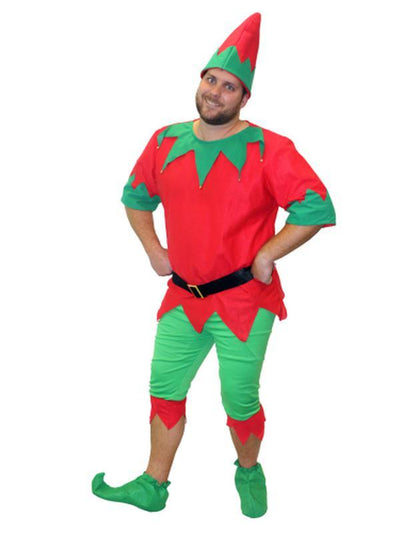 Aussie Elf - Small/Medium-Costumes - Mens-Jokers Costume Hire and Sales Mega Store