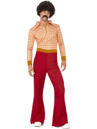 Authentic 70s Guy Costume-Costumes - Mens-Jokers Costume Hire and Sales Mega Store