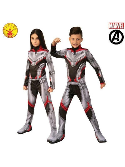 AVENGERS 4 CLASSIC UNISEX TEAM SUIT, CHILD-Costumes - Unisex-Jokers Costume Hire and Sales Mega Store