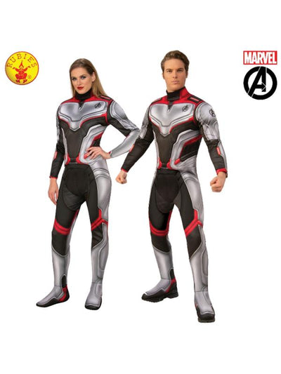 AVENGERS 4 DELUXE TEAM SUIT COSTUME, ADULT-Costumes - Unisex-Jokers Costume Hire and Sales Mega Store