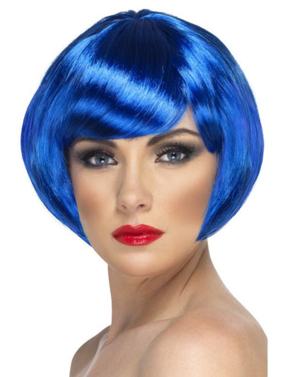 Babe Wig - Blue-Jokers Costume Mega Store