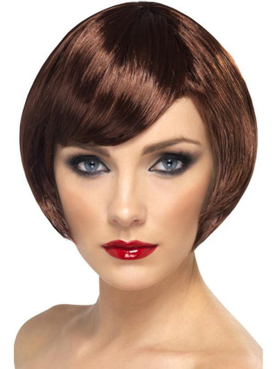 Babe Wig - Brown-Wigs-Jokers Costume Hire and Sales Mega Store