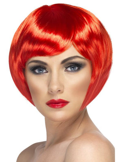Babe Wig - Red-Wigs-Jokers Costume Hire and Sales Mega Store