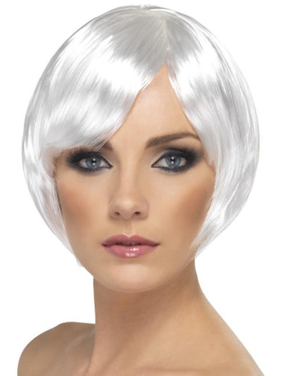Babe Wig - White-Jokers Costume Mega Store