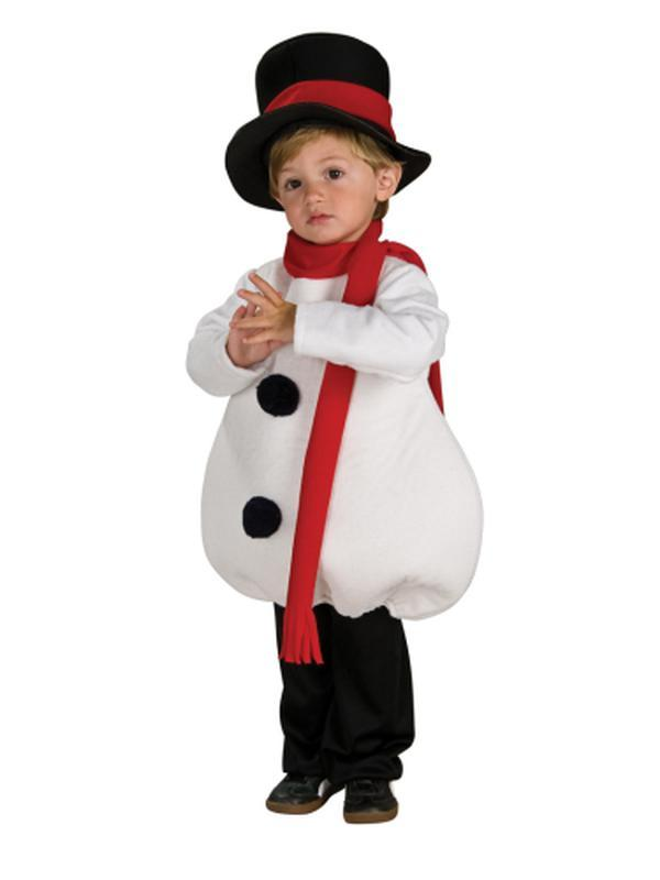 Baby Snowman Costume - Size Toddler-Jokers Costume Mega Store