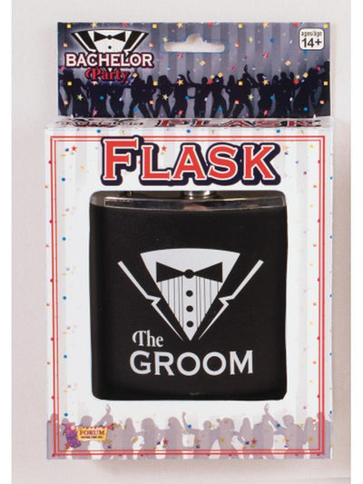 Bachelor Party Flask - Groom-Costume Accessories-Jokers Costume Hire and Sales Mega Store