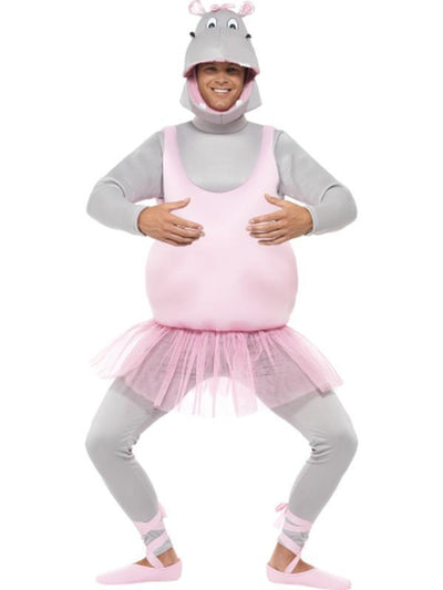Ballerina Hippo Costume-Costumes - Mens-Jokers Costume Hire and Sales Mega Store