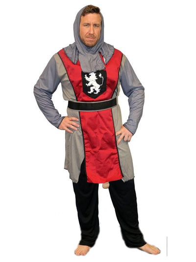 **Ballsy Knight - Medium**-Costumes - Mens-Jokers Costume Hire and Sales Mega Store