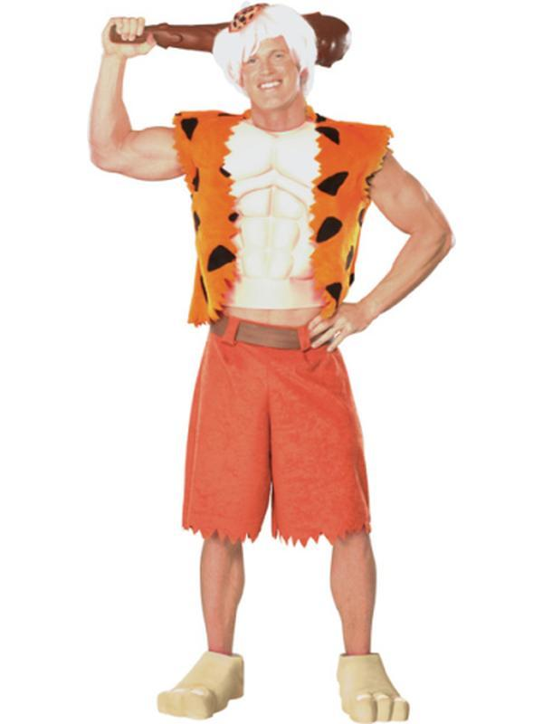 Bamm Bamm Deluxe Costume- Size Std-Costumes - Mens-Jokers Costume Hire and Sales Mega Store