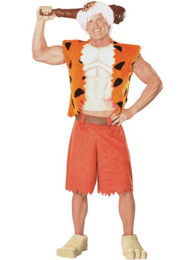 Bamm Bamm Deluxe Costume- Size Std-Costumes - Mens-Jokers Costume Mega Store