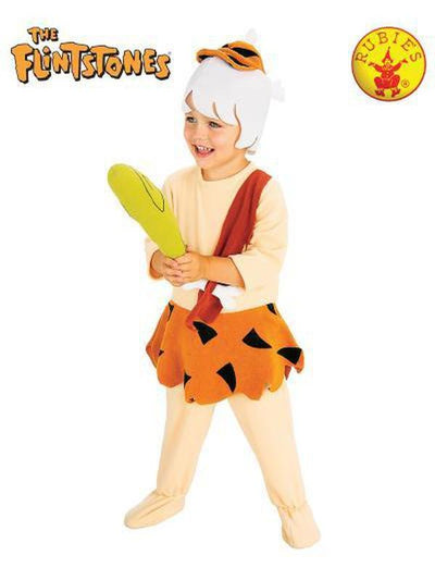 BAMM BAMM FLINTSTONES DELUXE COSTUME - SIZE S-Costumes - Boys-Jokers Costume Hire and Sales Mega Store