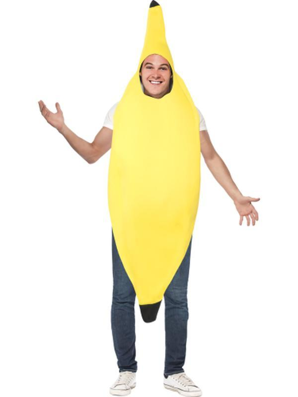 Banana Costume-Costumes - Mens-Jokers Costume Hire and Sales Mega Store
