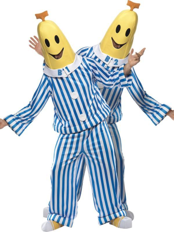 Bananas in Pyjamas Costume-Costumes - Mens-Jokers Costume Hire and Sales Mega Store