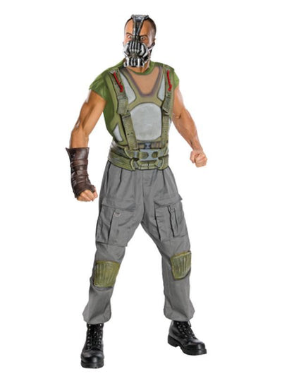 Bane Deluxe Costume - Size M-Costumes - Mens-Jokers Costume Hire and Sales Mega Store