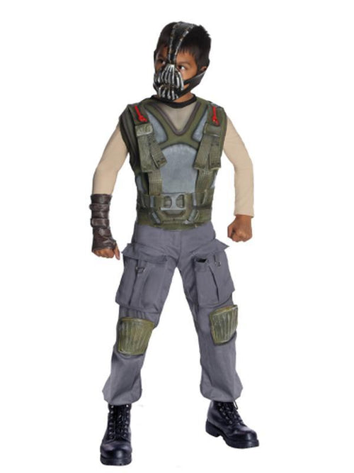 Bane Deluxe - Size M-Costumes - Boys-Jokers Costume Hire and Sales Mega Store