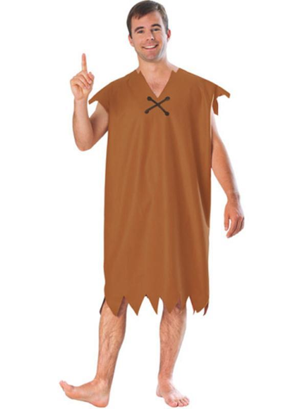 Barney Rubble Classic Costume - Size Xl-Jokers Costume Mega Store