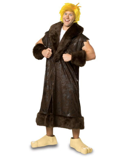 Barney Rubble Deluxe Costume- Size Xl-Costumes - Mens-Jokers Costume Hire and Sales Mega Store